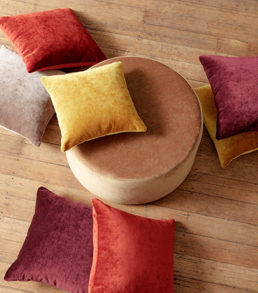 Velvet cushions Join the challenge