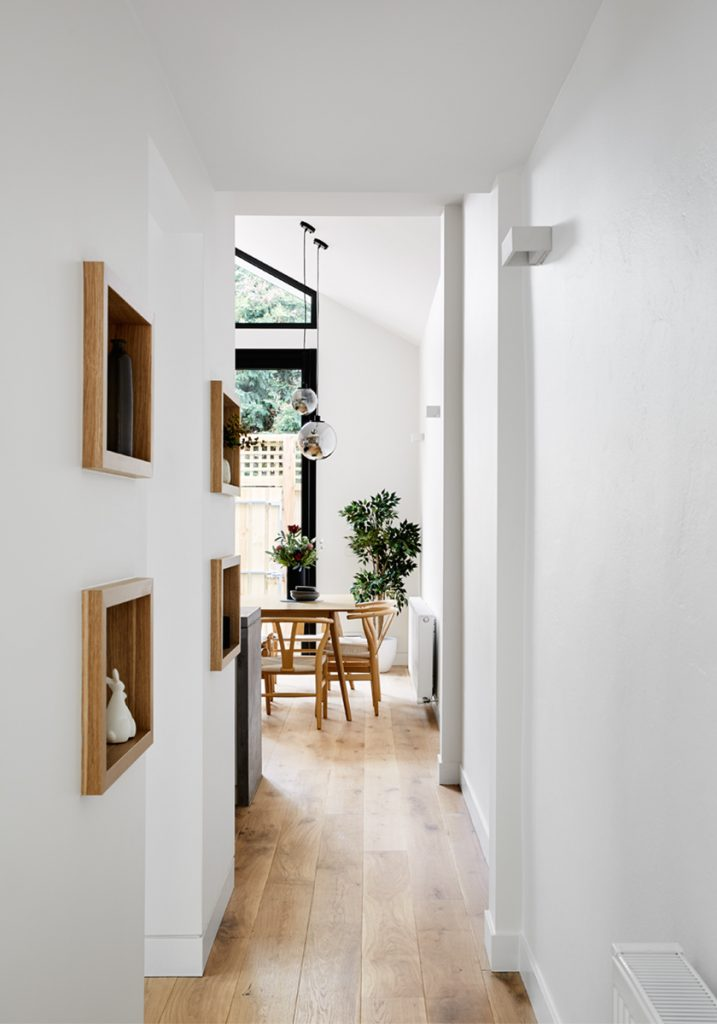 Dot's House_Atlas Architects_hallway into modest extension