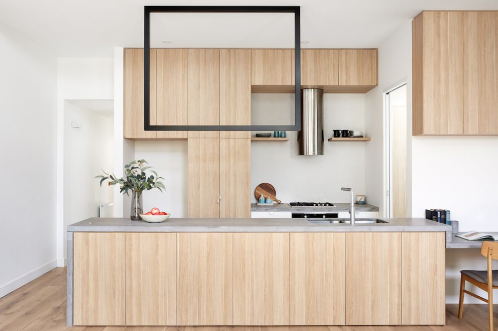 Dot's House_Atlas Architects_kitchen in modest extension