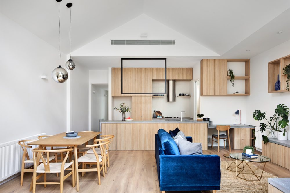 Kitchen living dining Atlas Architects Dots House