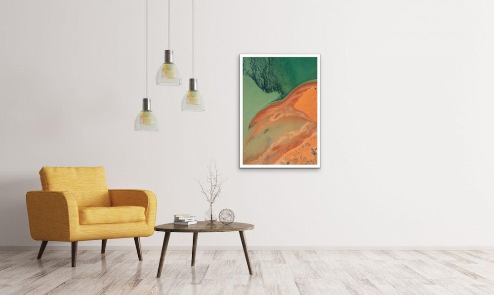 The Wandering Lens_Lisa Michele Burns_green and orange landscape