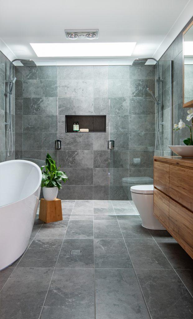 Zou Build_Bardon Renovation_after_bath and shower