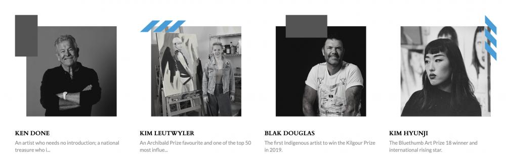 Bluethumb's 2020 Art Prize judging panel