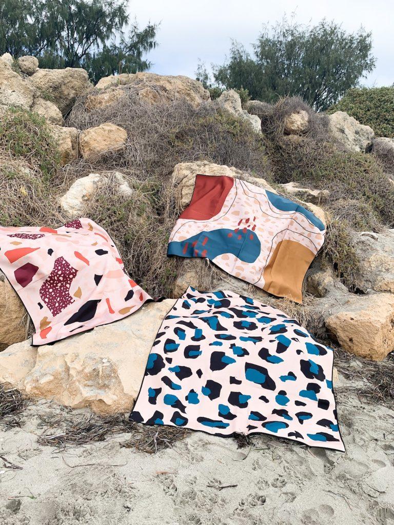 Ninon Designs_sand free beach mat_designs