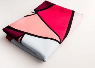 Ninon designs_sand free beach mat_beach mat_folded