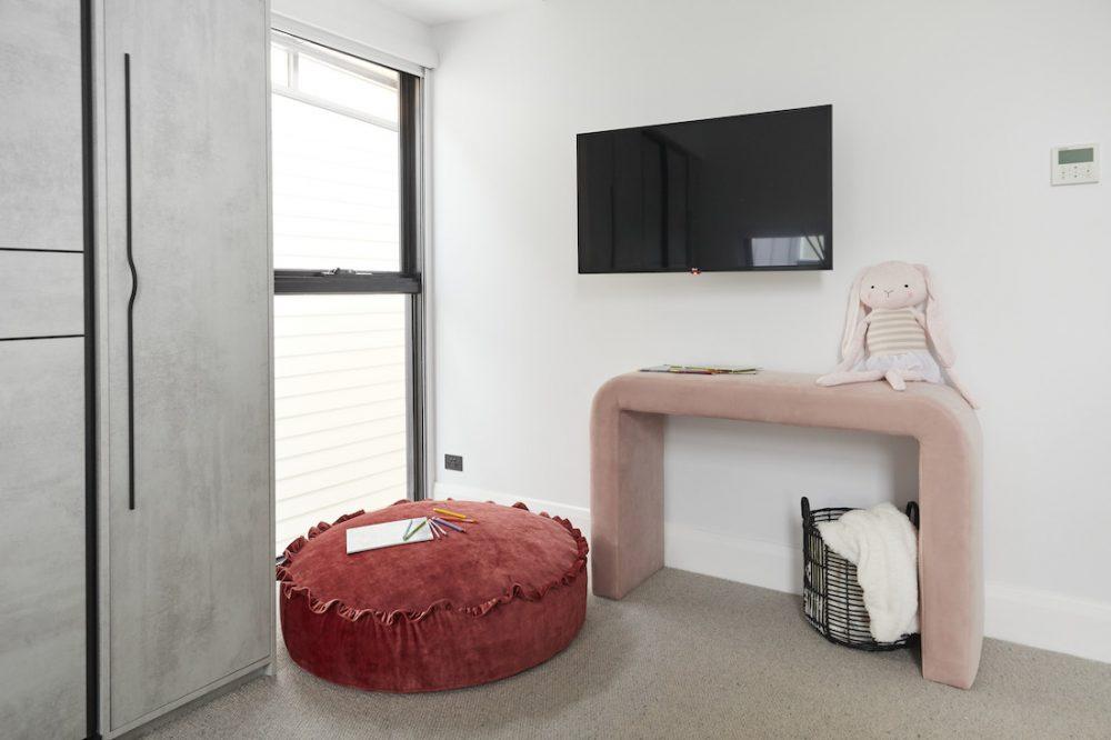 The Block 2020_Week 8_George and Sarah_bedroom nook