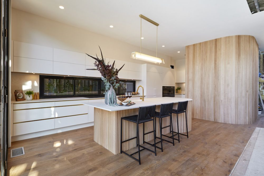 More curves on The Block 2020 kitchen reveals