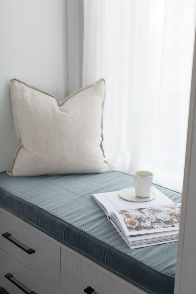 Eucalyptus bench cushion