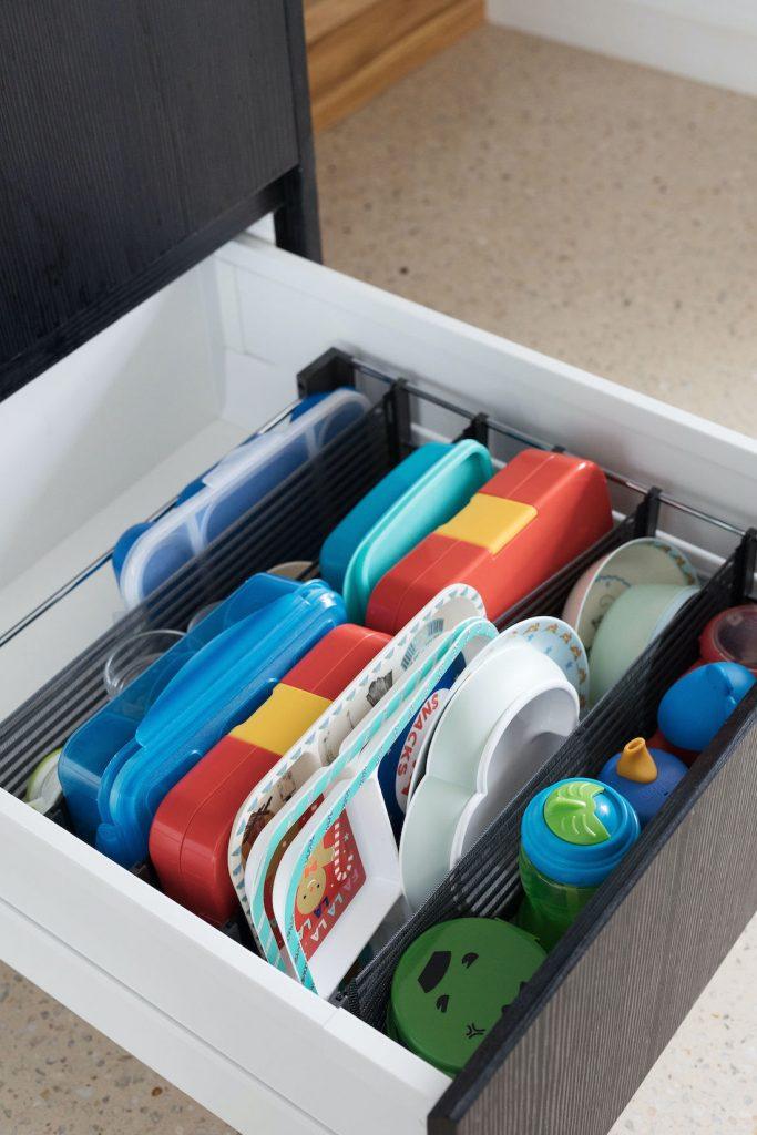 Spaceflexx kitchen drawer organising
