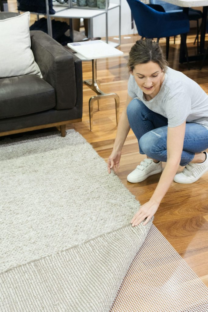 Antislip mat under rug how to select the right rug