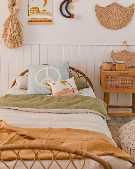 Boho bedroom vibes