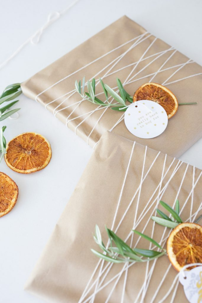 Dried orange slices close