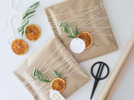 Dried orange slices tutorial