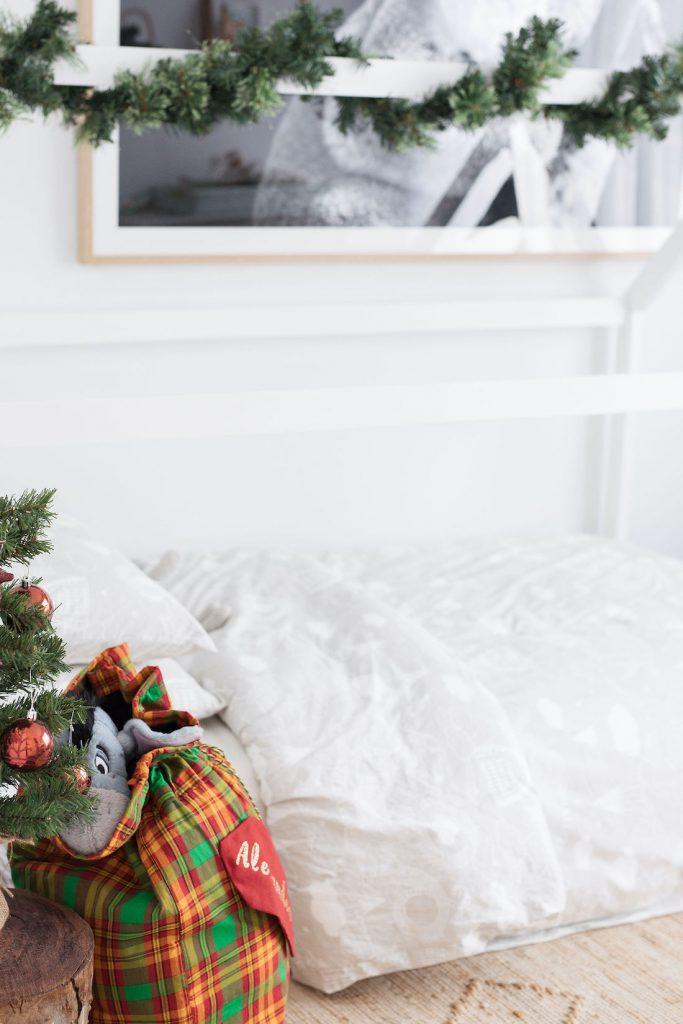 Luxe Santa sack tutorial