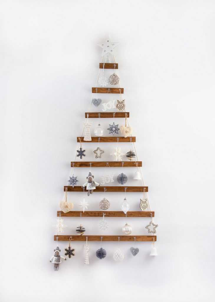 Australian handmade Christmas decor - wall Christmas tree