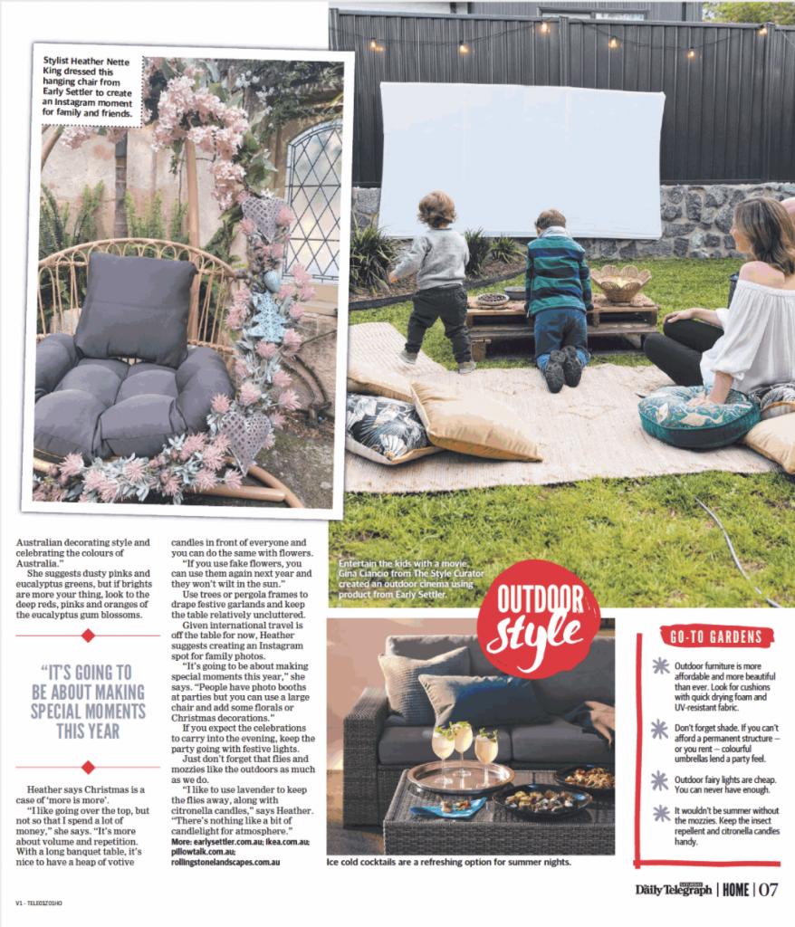 Outdoor cinema media feature