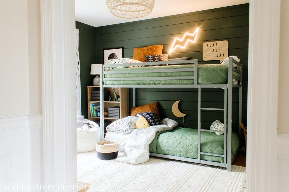 Boys bunk bedroom how to decorate a boy's bedroom