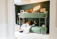 Boys bunk bedroom