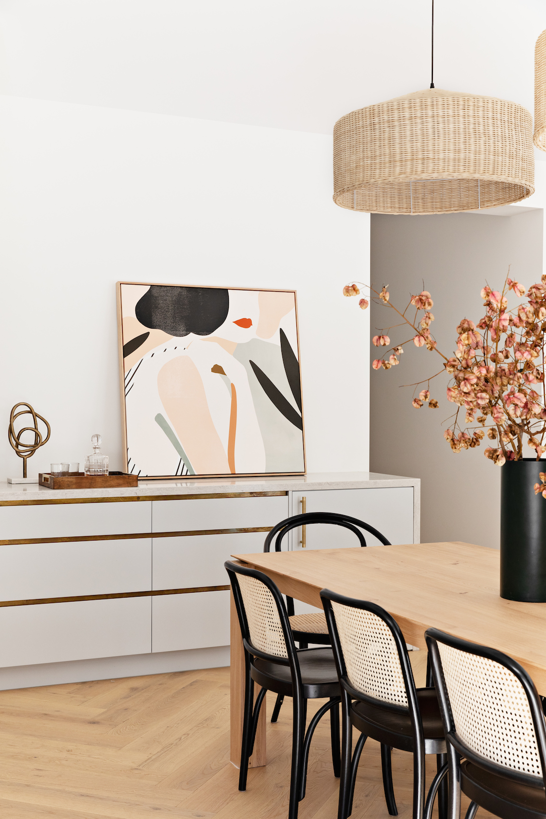 Californian Bungalow_Bone Made_dining use art to style your home