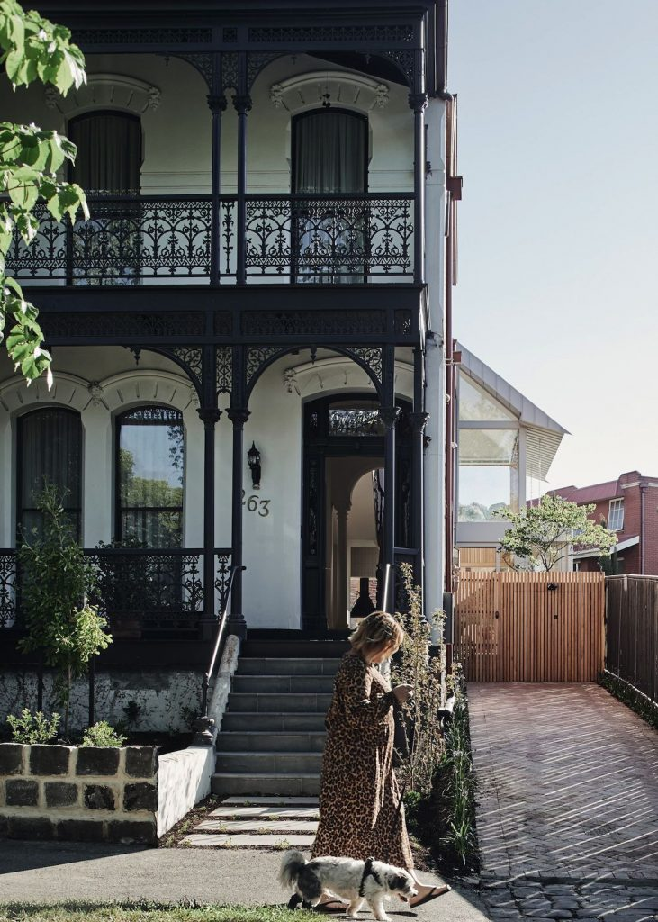 Heritage facade of Melbourne home