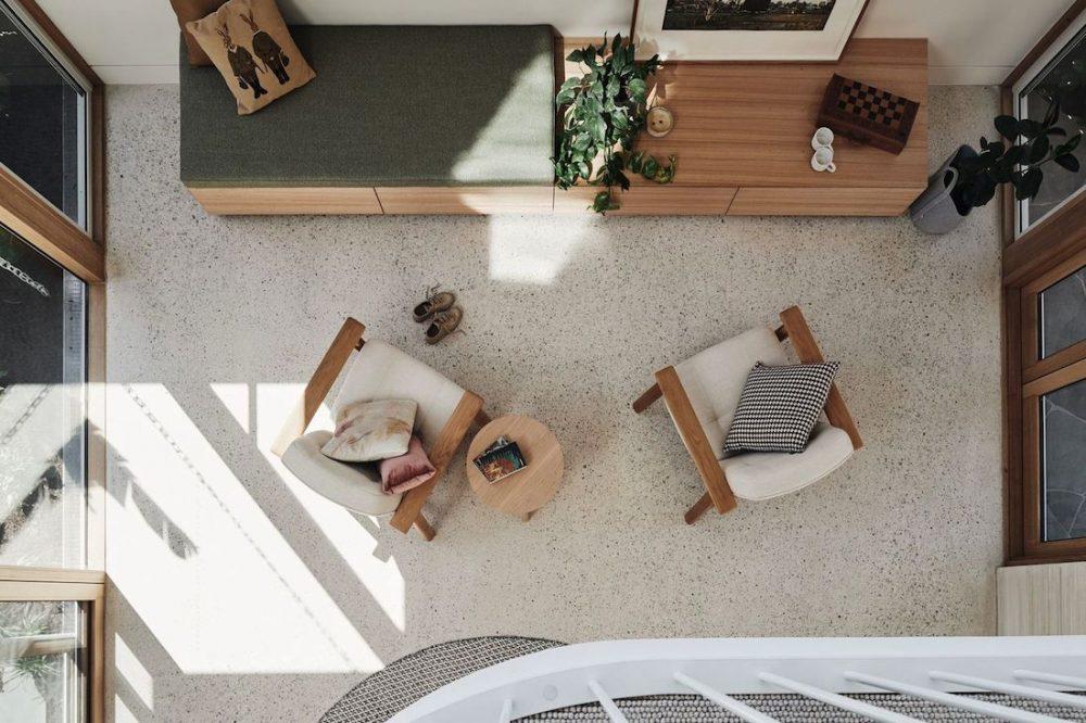 View from internal mezzanine balcony