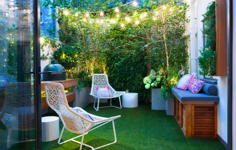 Small outdoor space_Houzz