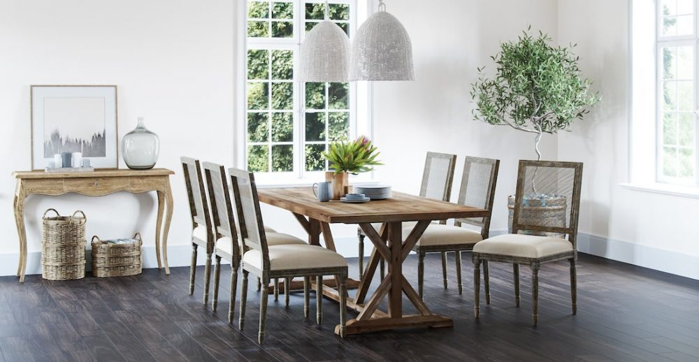 Provincial style dining room