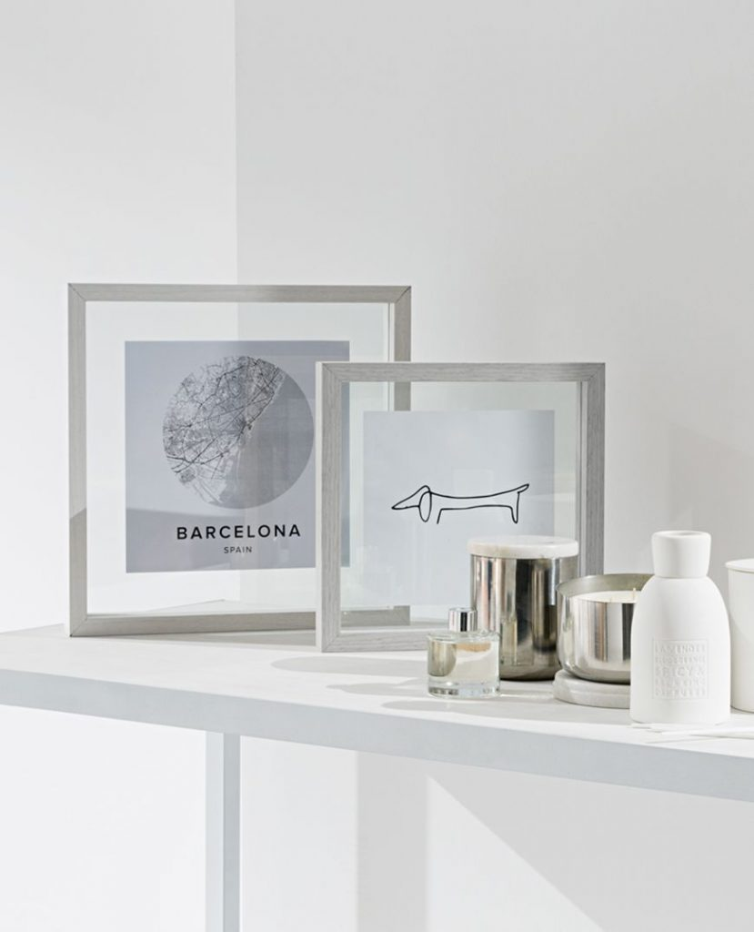 Floating photo frames home decor updates