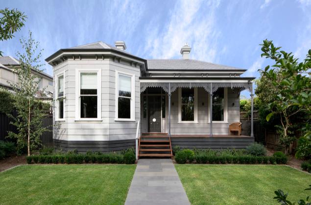 Victorian home facade