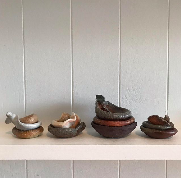 Selection of Ceramics by Abbey Jamieson