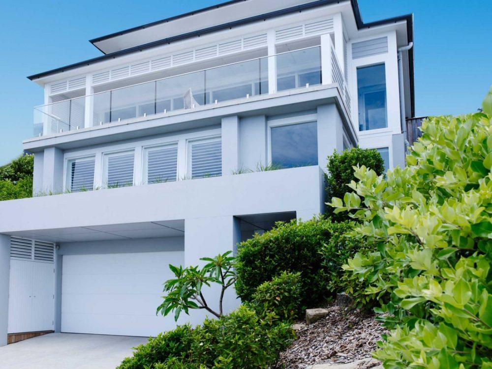 Coastal Australian Hamptons home