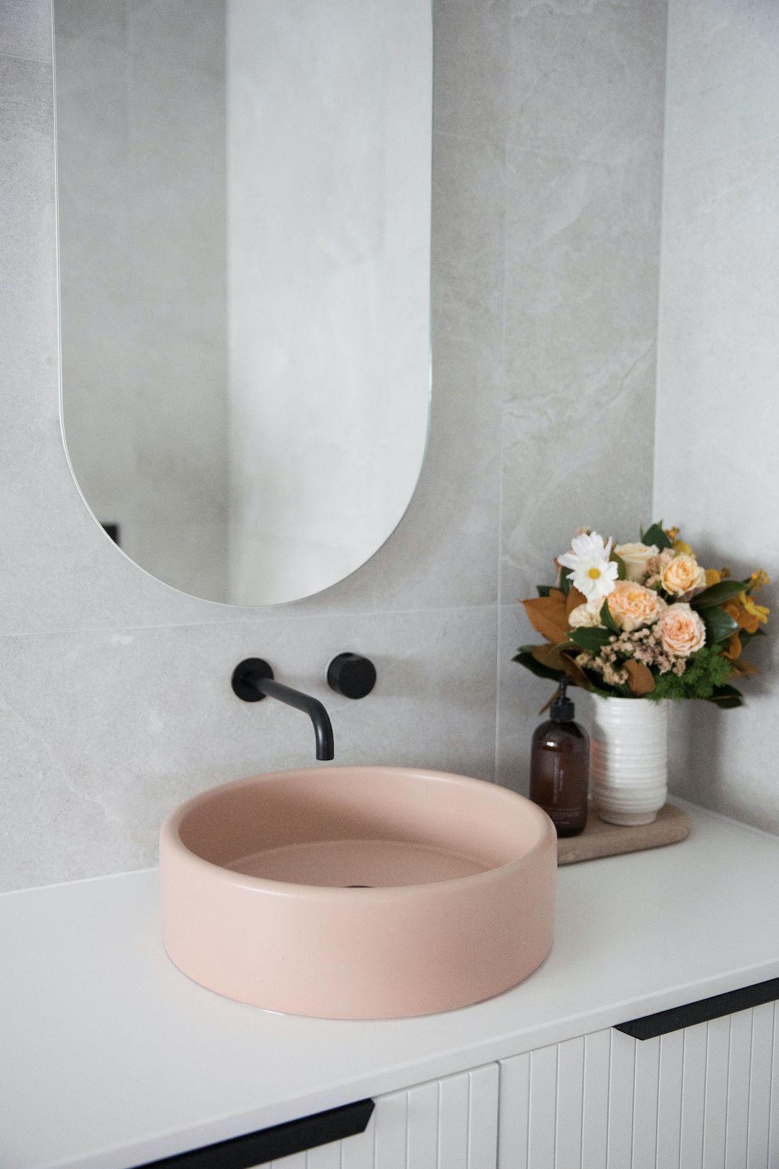 Nood basin in Bathroom renovation