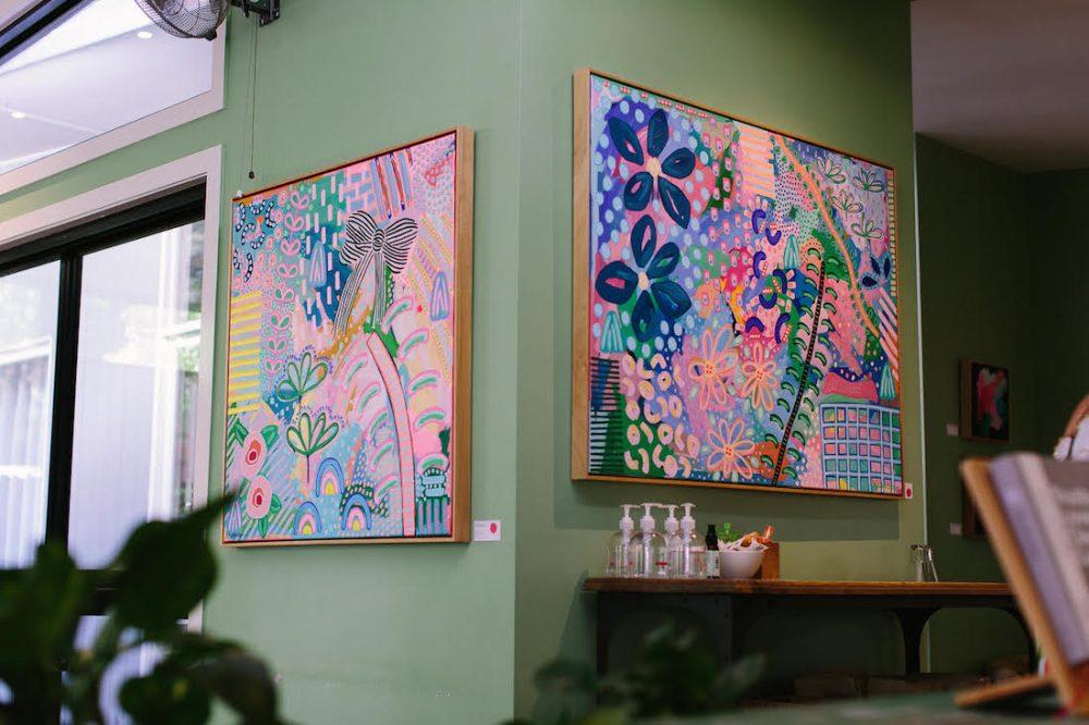 Samantha Hobbelen solo art exhibition