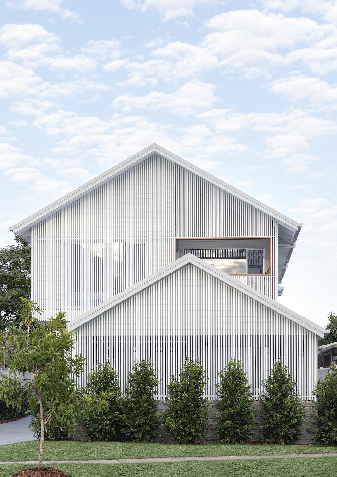 Albion Duplex facade
