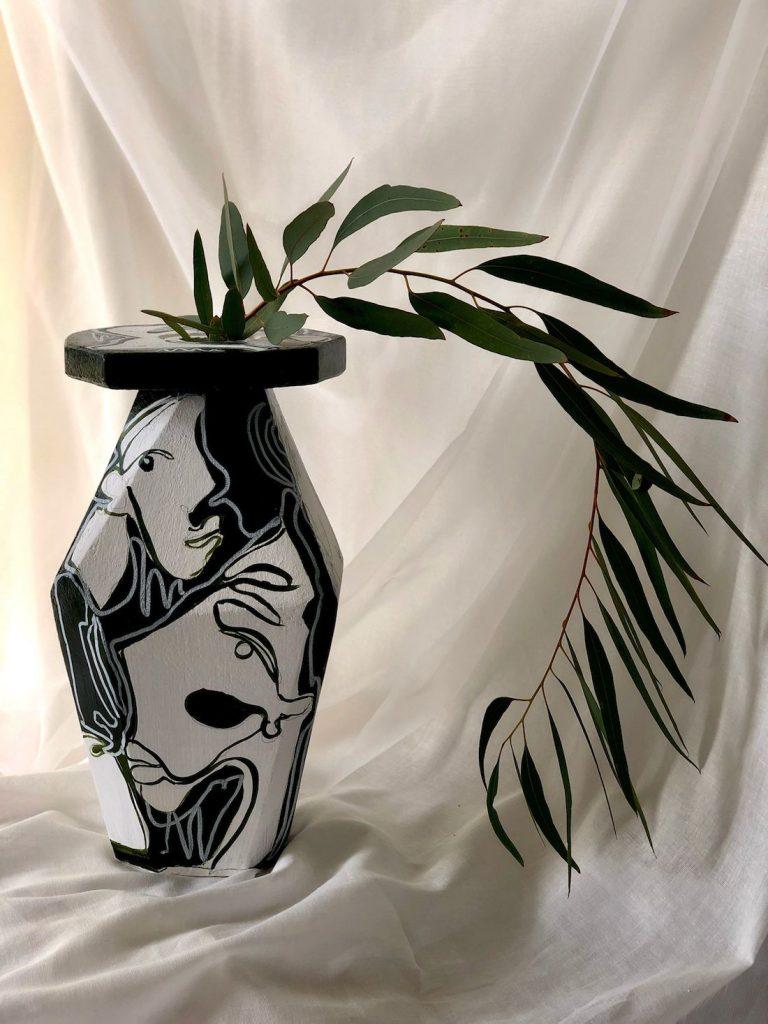 Kate Florence Art_art on vase