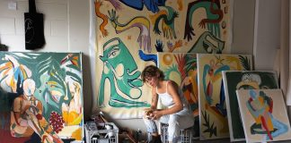 Kate Florence Art_at work