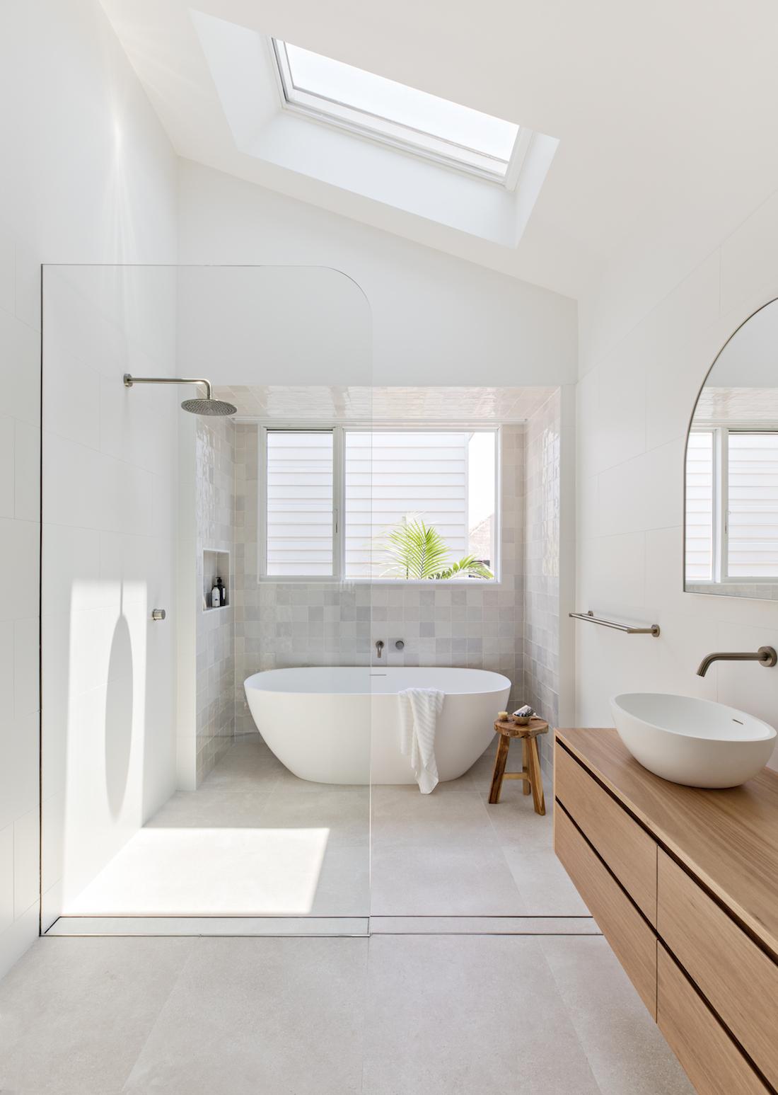Orton Haus bathroom with freestanding bath