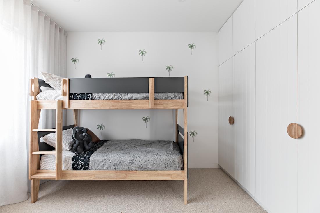 Orton Haus kids bedroom with bunk beds