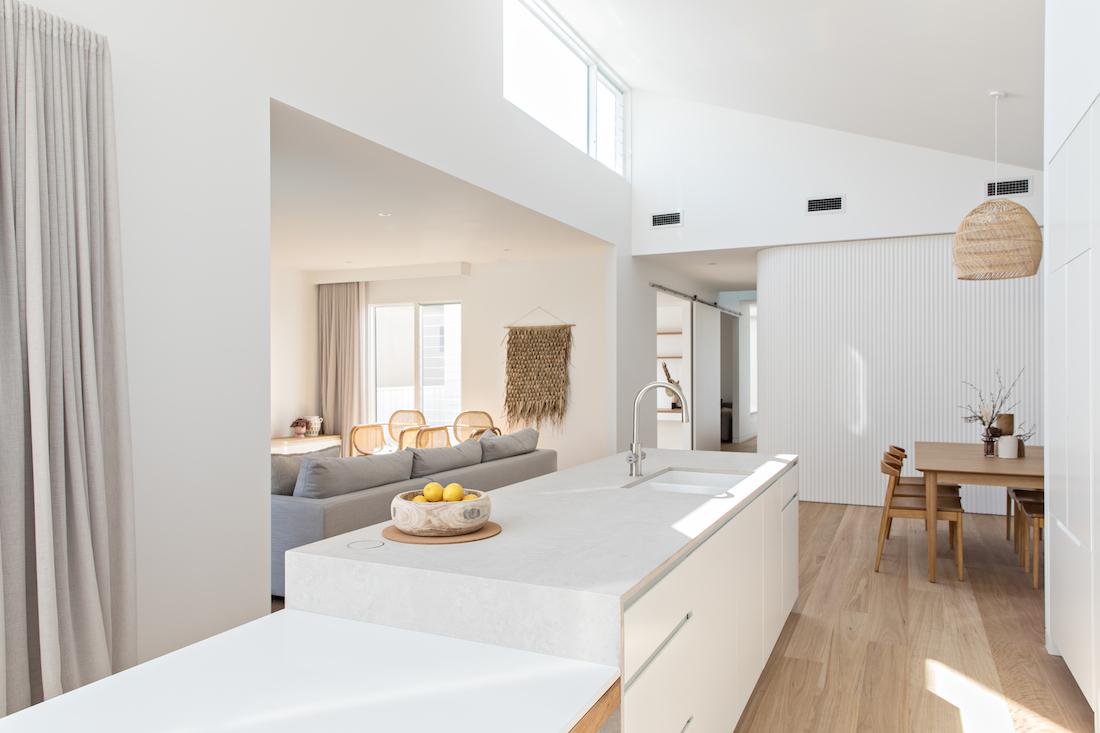 Orton Haus white kitchen