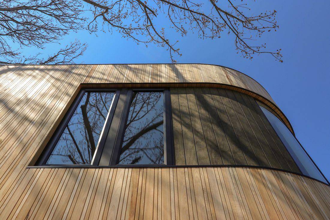 Windows of Ribbon House