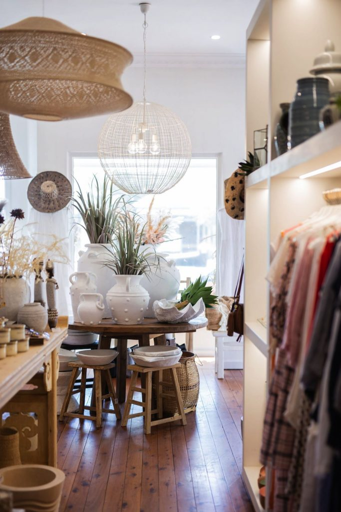 Clothes and homewares store The White Place