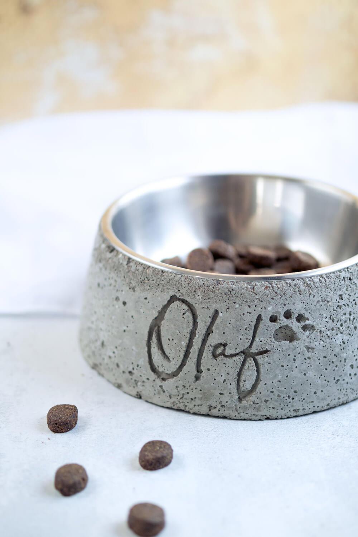 DIY pet bowl