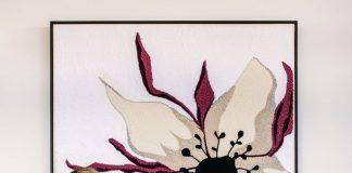 Tapestry artist Monica Henry