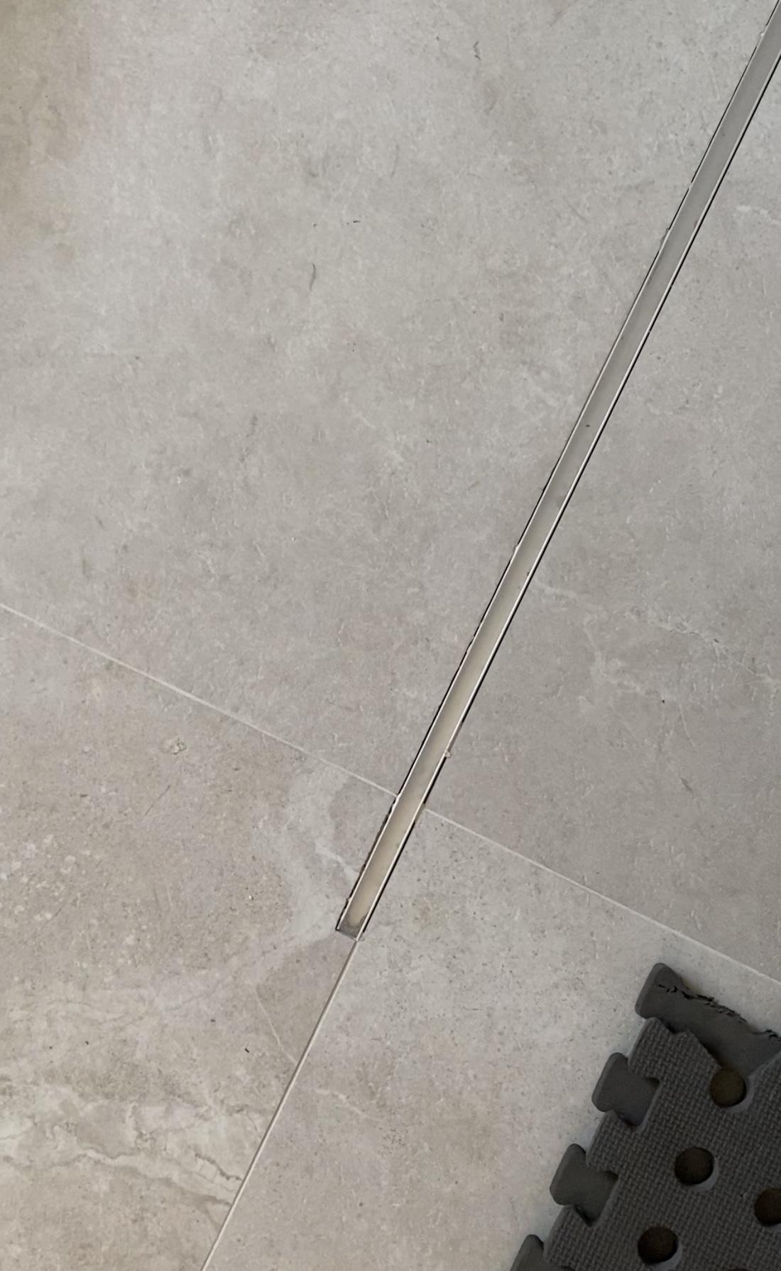 C channel in floor