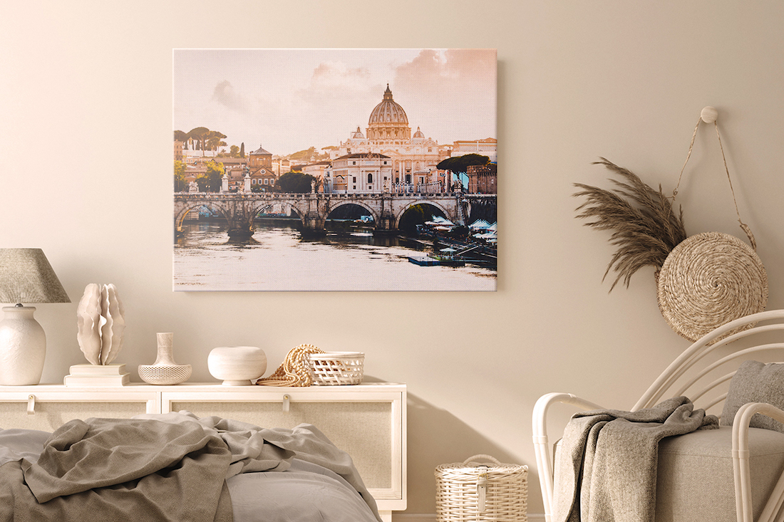 Canvaspop photo on canvas use art to style your home