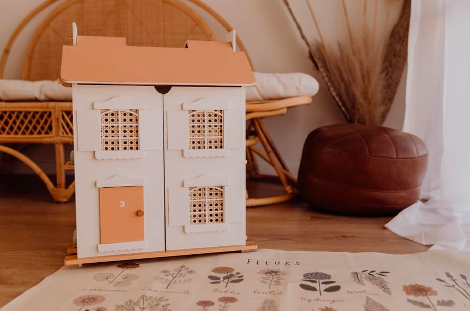 Dolls house after