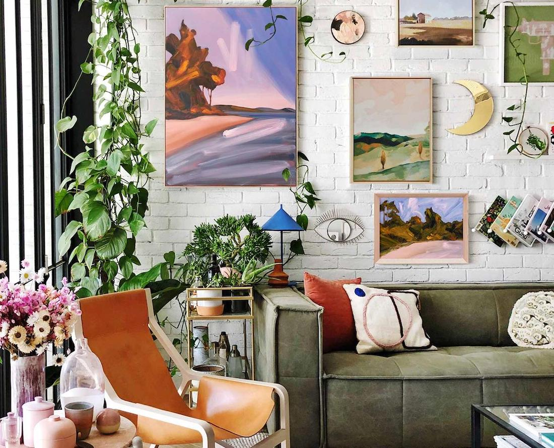 Gallery wall use art to style your home