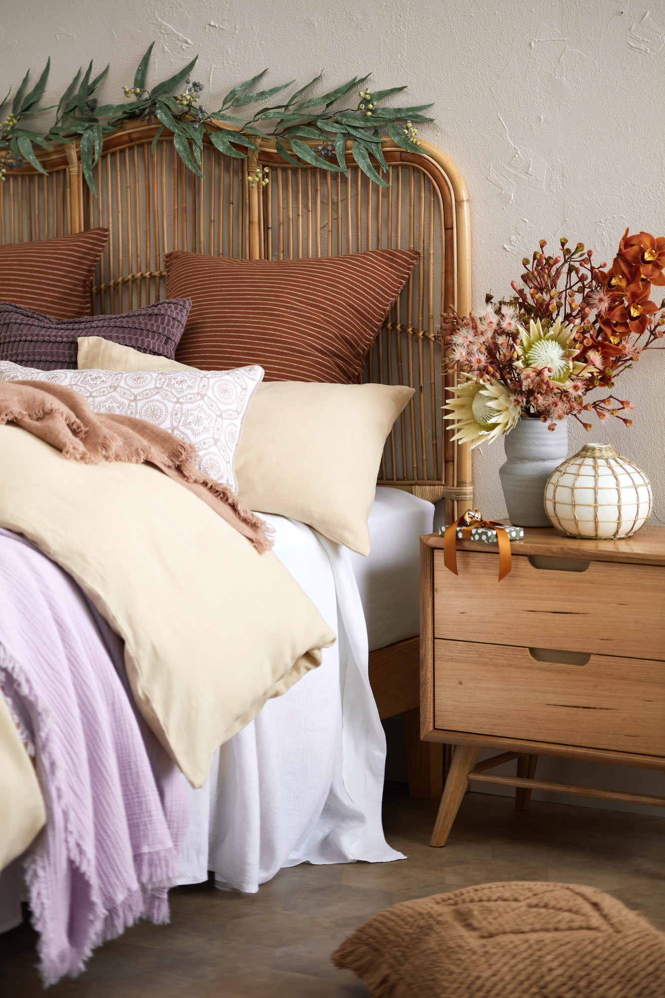 Marley Messmate bedside table styled
