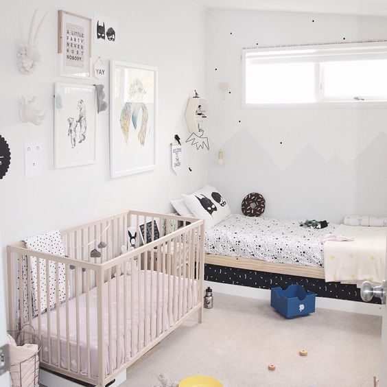 Baby and toddler bedroom