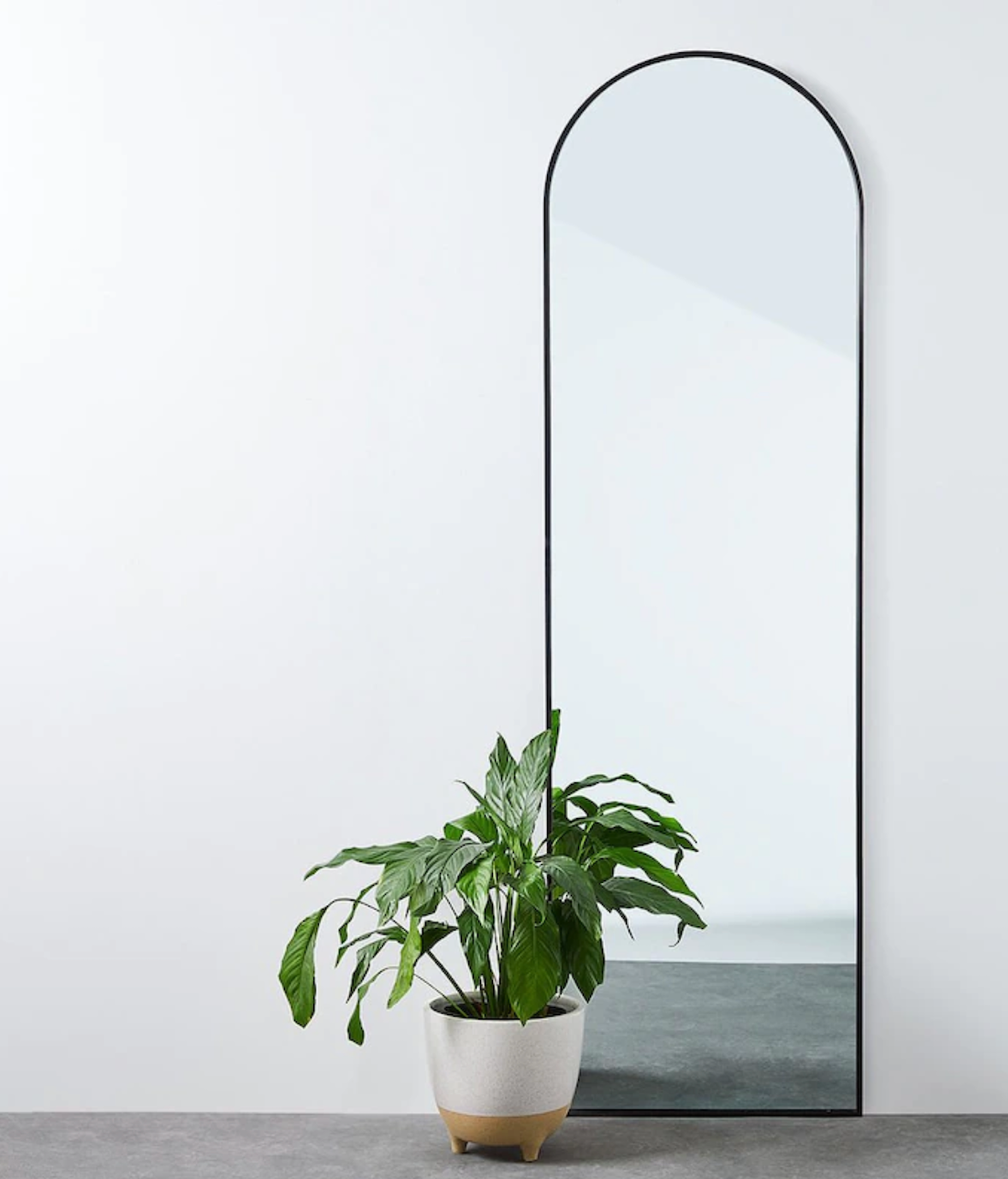 Arch mirror from Target